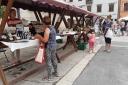 Tržnica na placi subotom u Vodnjanu