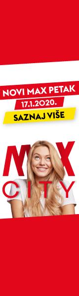 Banner Max City od 13.01. do 17.01. Sky
