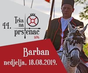 Trka na prstenac Barban 2019