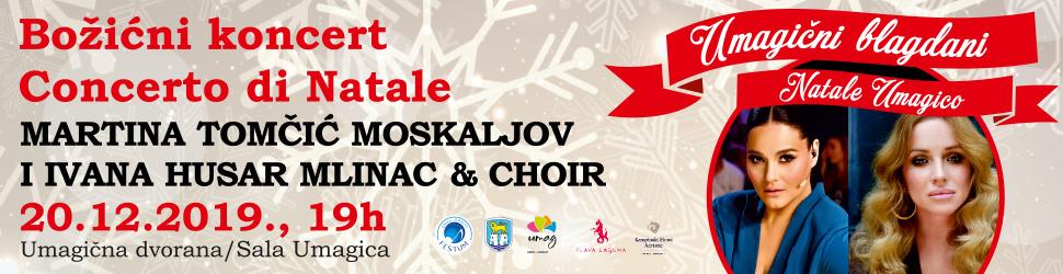 Umagični božićni koncert 2019 - Bilboard