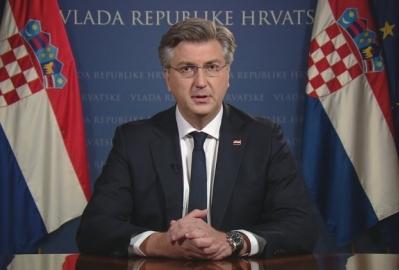 Plenković zatražio odricanja, najavio pomoć firmama ali i sankcija za nepoštovanje mjera